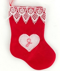 Window Pane (Heart) Stockings